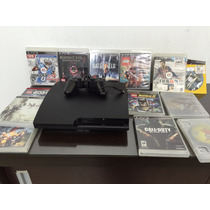 Playstation 3 150 Gb + Jogos + 2 Controles