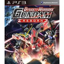 Dynasty Warriors Gundam Reborn Ps3 + Dlc Complete Bundle