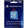 Cartão Psn Brasileira - Crédito De R$ 100 Playstation Store
