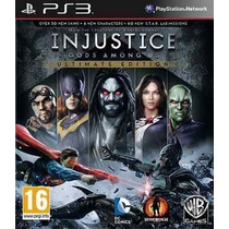 Injustice Gods Among Us Ultimate Ps3 Português (código Psn)