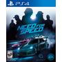 Jogo Need For Speed Para Playstation 4 Novo Lançaamento