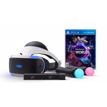 Playstation Vr Oculos Realidade Virtual Ps4 Kit Pré Venda