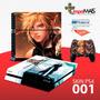 Skin Capa Playstation 4 Ps4 Adesivo Final Fantasy