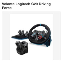 Volante Logitech G29 Driving Force C/cambio Ps4/ps3/pc
