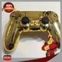 Controle Dualshock 4 Dourado Ps4 Golden Controller Original