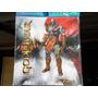 Adesivo P/ Console E Controle Ps4 God Of War Kratos + Grips