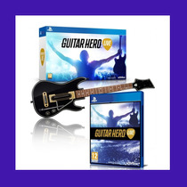 Guitarra Guitar Hero Live Rock Band Ps4 Original + Jogo