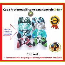 Lote Capa Protetora Silicone Controle Xbox 360 E One Atacado
