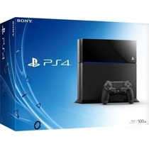 Playstation 4 500gb Ps4 Original Play 4 Sony 3d Bluray Nf
