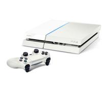 Playstation 4 Branco Ps4 500gb + Hdmi + Blu-ray 3d