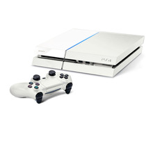Playstation 4 Branco Ps4 500gb + Hdmi + Blu-ray 3d