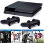 Playstation 4 500gb Ps4 + 2 Controles+ 2 Jogos 12x Sem Juros