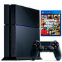 Playstation 4 500gb Sony Ps4 + The Last Of Us + Gta V