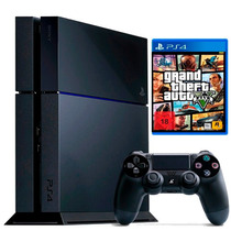 Playstation 4 500gb Sony Ps4 + The Last Of Us + Gta V