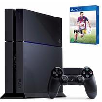 Playstation 4 Ps4 + Controle + Brinde   Nf E Garantia Legal