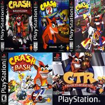 Patch Ps1 - Coleção Crash Bandicoot (5 Jogos)