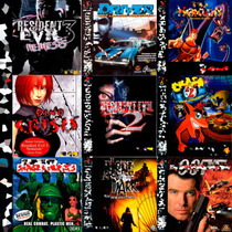 Patch Jogos Playstation1 Psone Ps1 Cd Semi Prateada A Melhor