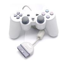 Controle Analógico Playstation 1 Ps One Novo Lacrado+ Longo