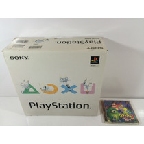 Psone / Ps1 Fat Japones Scpg-9000 C/ Caixa + Dualschok +game