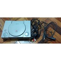 Playstation 1 Fat Japonês Travado + Tapete + Jogo Original