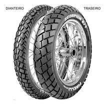 Pneu Dianteiro Pirelli 90/90 - 21 54s Tt Scorpion Mt90 A/t