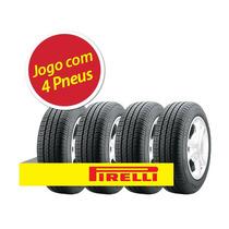 Kit Pneu Aro 13 Pirelli 185/70r13 P400 85t 4 Unidades