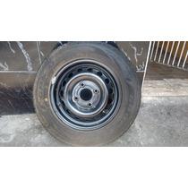 Roda + Pneu Duraplus Goodyear Ford Ká Aro 13 Novo,só 1