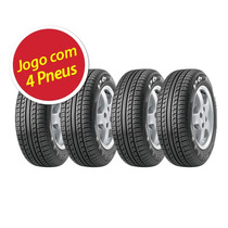 Kit Pneu Pirelli 185/65r14 P6 86h 4 Unidades