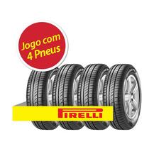 Kit 4 Pneu Aro 14 Pirelli 185/65r14 Cinturato P1 86t
