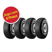 Kit Pneu Aro 14 Pirelli 185r14 Chrono 102r 4 Unidades