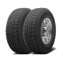 Jogo 2 Pneus Bridgestone Dueler H/t 689 265/70r15 110s