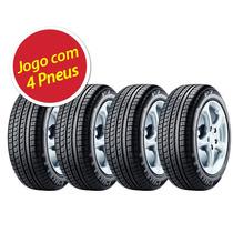 Kit Pneu Aro 15 Pirelli 195/60r15 P7 88v 4 Unidades