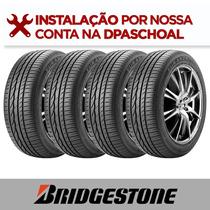 Jogo 4 Pneus Aro 15 Bridgestone Turanza Er300 185/65 R15 88h