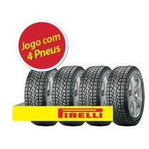Kit 4 Pneu Aro 15 Pirelli Lt255/75r15 109s Scorpion Atr