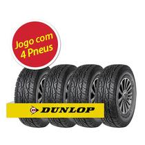 Kit Pneu Aro 16 Dunlop 265/70r16 At3 112t 4 Unidades