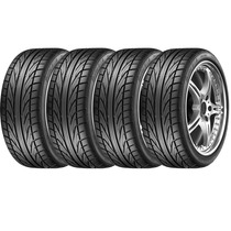 Jogo De 4 Pneus Dunlop Dz101 Direzza 205/55r16 91v