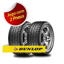 Kit Pneu Aro 17 Dunlop 225/45r17 Dz101 94w 2 Unidades