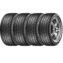 Jogo De 4 Pneus Dunlop Dz101 Direzza 245/40r17 91w