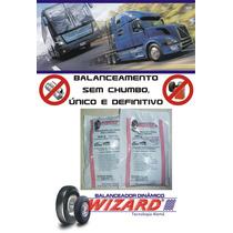 Balanceamento Sem Chumbo Caminhão Roda 315/80 Aro 22.5