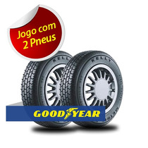 Kit 2 Pneu Aro 13 Goodyear 165/70r13 Kelly Metric Xtra 79t