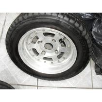 Fusca/derivados - Jogo De Rodas Alloy Furacao 4x130 -