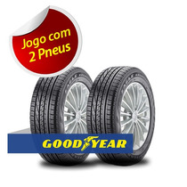 Kit 2 Pneu Aro 15 Goodyear 185/60r15 Excellence Aquamax 84h
