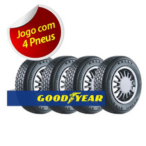 Kit 4 Pneu Aro 13 Goodyear 175/70r13 Kelly Metric Xtra 82t