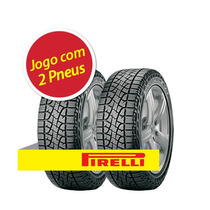 Kit 2 Pneu Aro 15 Pirelli 205/70r15 96t Scorpion Atr