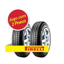 Kit 2 Pneu Aro 15 Pirelli 185/65r15 Cinturato P4 88t