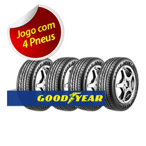 Kit 4 Pneu Aro 14 Goodyear 175/65r14 Eagle Sport 82h