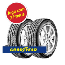 Kit 2 Pneu Aro 17 Goodyear 215/45r17 Efficient Grip 91v