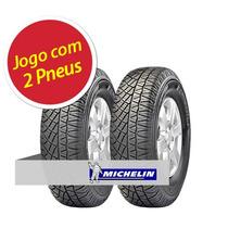 Kit 2 Pneu Aro 16 Michelin 235/60r16 Latitude Cross 104h