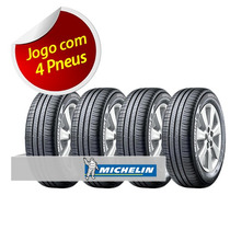 Kit Pneu Aro 15 Michelin 195/55r15 Energy Xm2 85v 4 Unidades