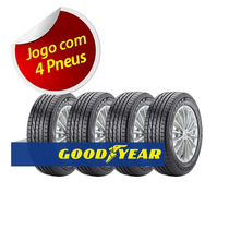 Kit 4 Pneu Aro 14 Goodyear 185/70r14 Excellence Aquamax 88h